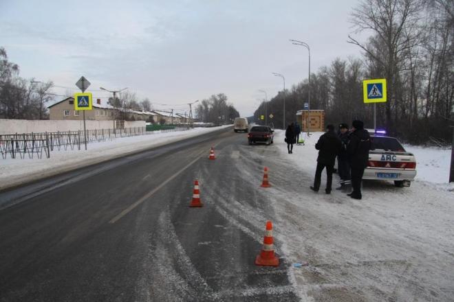 В Медведевском районе на пешеходном переходе сбили двух детей