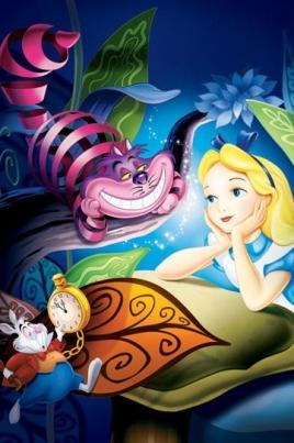 Алиса в стране чуде постер