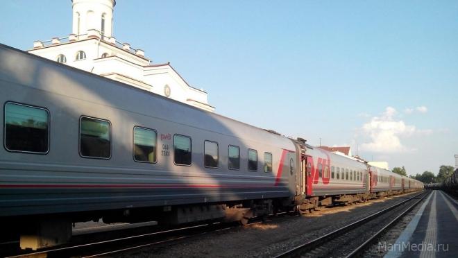 В майские праздники из Йошкар-Олы в Москву пустят дополнительные поезда