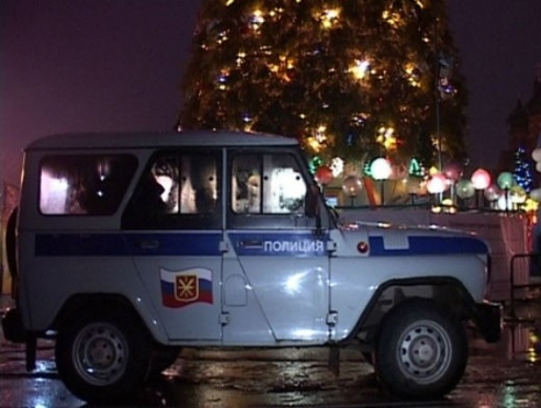 Полиция Марий Эл переведена на «новогодний» вариант несения службы