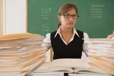 Учителя-предметники сдают экзамены на компетентность