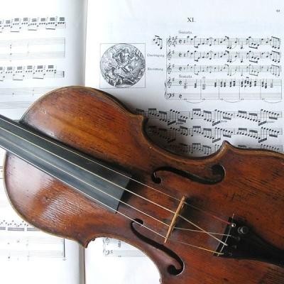 Орган и скрипка Гварнери