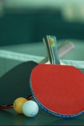 Первенство по настольному теннису постер