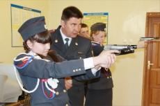 Полиция куёт будущие кадры в школе