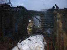В Марий Эл в сгоревшем доме найдено тело мужчины