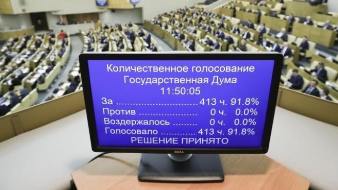 Госдума рассматривает законопроект об ответных мерах России в отношении недружественных государств