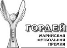 Совсем скоро будут названы имена лауреатов Марийской профессиональной футбольной премии «Гордей»