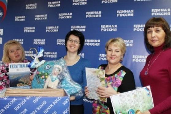 Жители Севастополя прислали новогодние игрушки в Марий Эл