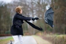 Северо-западный ветер продолжает бушевать в Марий Эл