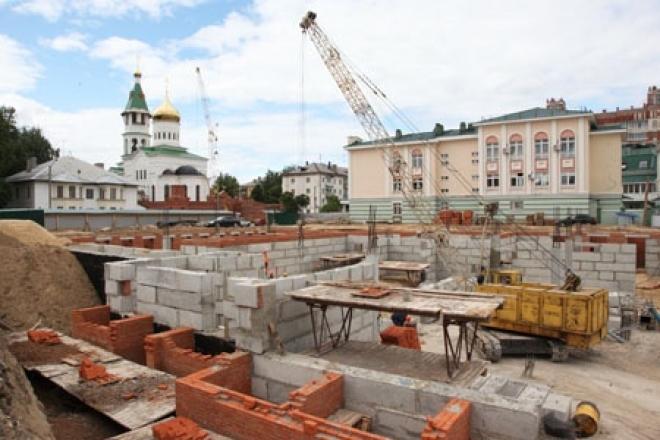 В Йошкар-Оле продолжается строительство нового здания филармонии