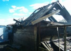 Медведевский район охватила стихия огня