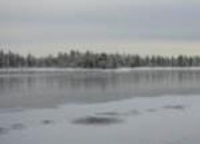 Несмотря на морозы, лед на реках Марий Эл недостаточно крепок