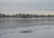 Толщина ледового покрытия на водных объектах Марий Эл от 1 см до 1 м