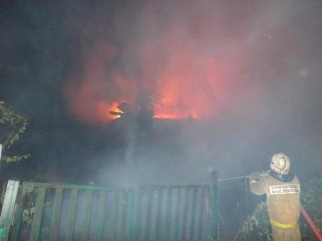 В Марий Эл два человека погибли в огне