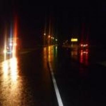 Грузовая «Газель» сбила на трассе пешехода-«невидимку»