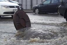 В Йошкар-Оле улица Анникова ушла под воду