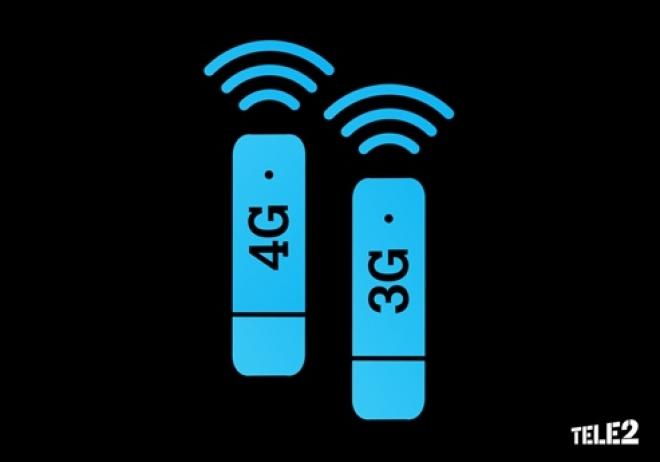 Tele2 дарит месяц мобильного интернета пользователям 3G-устройств