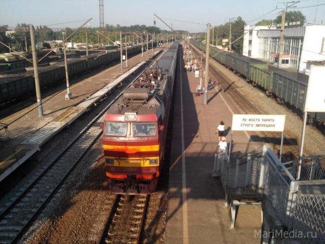 Электричка Йошкар-Ола-Яранск ходит последние две недели