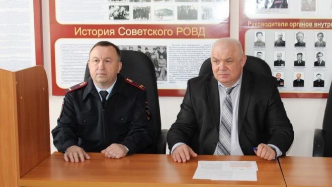 Межмуниципальный отдел МВД РФ «Советский» возглавил Михаил Щеглов