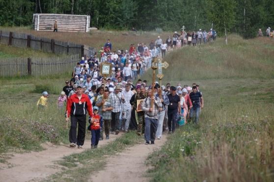По Марий Эл протянется 110-километровый крестный ход
