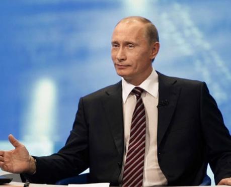 Владимиру Путину презентовали сборник очерков, посвящённый 90-летию А.Я. Эшпая