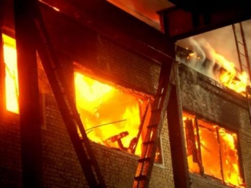 В Волжске в частном доме произошёл пожар