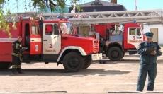 Пожарные «спасли» учебный корпус Волгатеха от условного возгорания