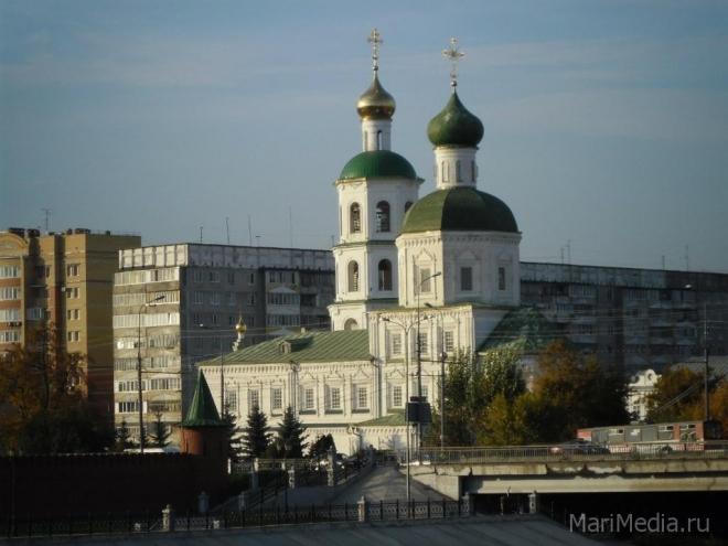 Йошкар-олинский Собор Вознесения Господня отмечает 20-ую годовщину после второго рождения