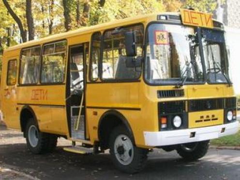В Марий Эл загорелся школьный автобус