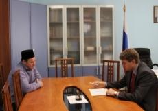 Роман Береснев встретился с духовным лидером мусульман Марий Эл