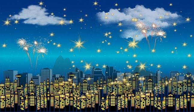 Безопасный Новый год: фейерверк на радость всем