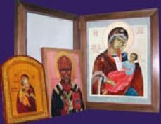 Самописные иконы осужденных Марий Эл освящают в православных храмах