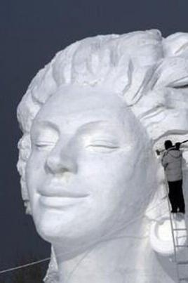 Городской зимний фестиваль снежных скульптур