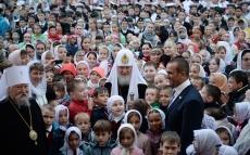 Святейший Патриарх Московский и всея Руси Кирилл посетил Чувашию