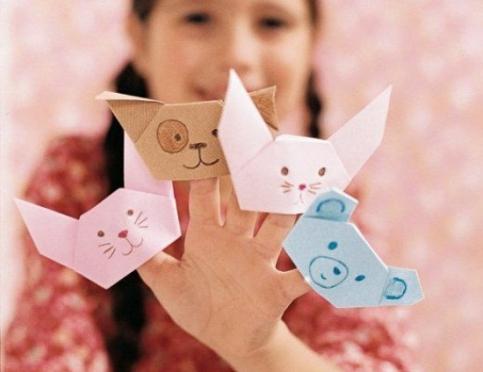Интересные поделки из бумаги для детей