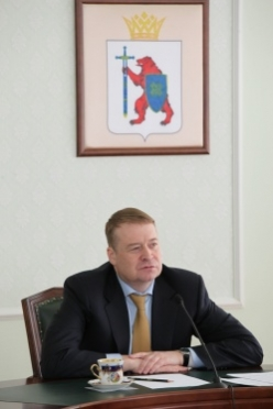 Патриарх Московский и всея Руси Кирилл наградил Главу Марий Эл орденом