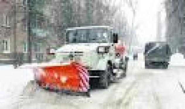 Вниманию автомобилистов –в Йошкар-Оле дороги закрыты для уборки снега