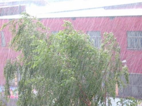 В Марий Эл ожидается усиление ветра, грозы, ливни и град