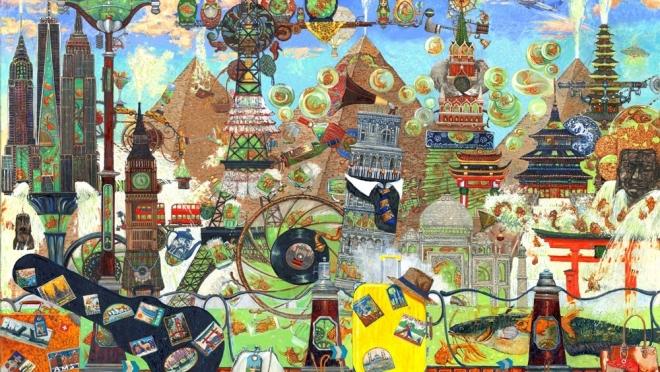 В Йошкар-Оле открывается выставка Петра Фролова «Круговорот»