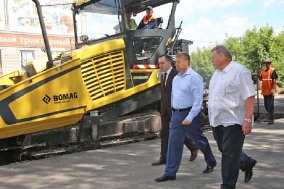 Глава Марий Эл лично инспектирует ход выполнения дорожных ремонтных работ