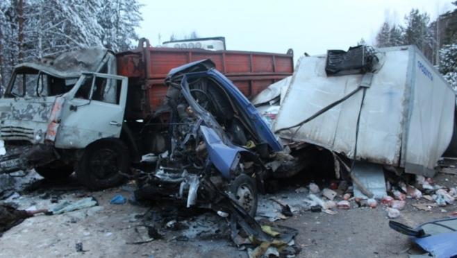 В Килемарском районе серьёзное ДТП с погибшими