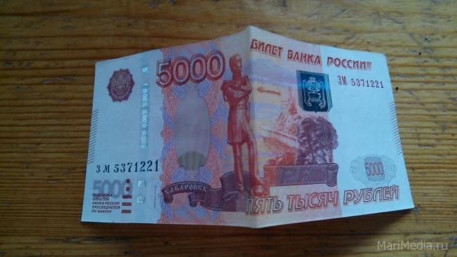 Жительница Килемар ягоды и грибы «обменяла» в Казани на фальшивые купюры
