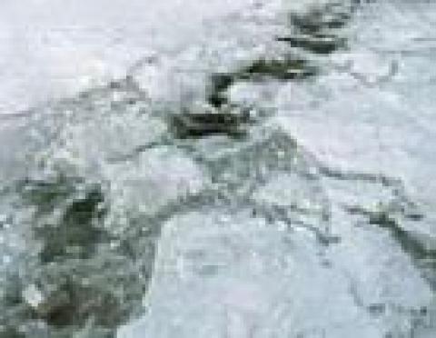 Лед на водных объектах Марий Эл остается неоднородным