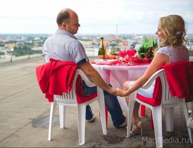 Marimedia.ru вручает приз за лучший романтический ужин