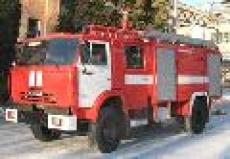 Новый автомобиль пополнил автопарк пожарной техники Марий Эл