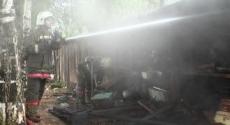 В Марий Эл горят автомашины, бани и сараи
