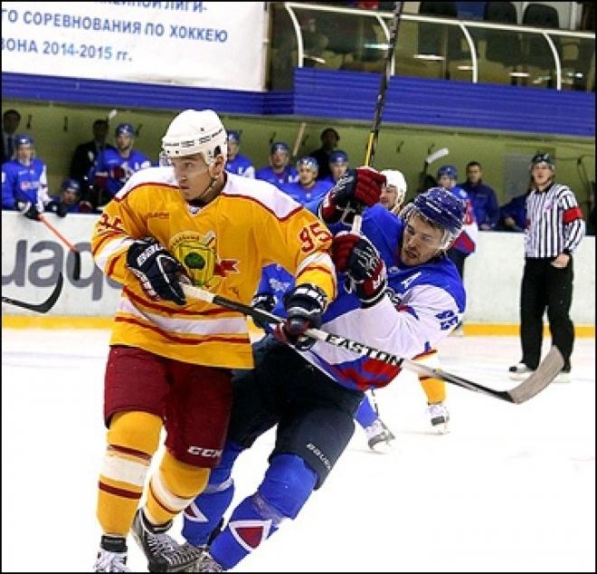 «Ариада», ведя в матче с ХК «Липецк» со счетом 2:0, проиграла в итоге по буллитам