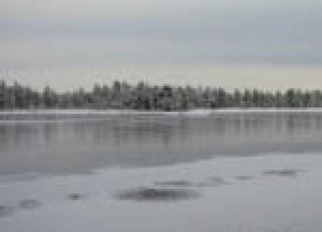Лёд на реках и озерах Марий Эл стал опасным для людей и техники