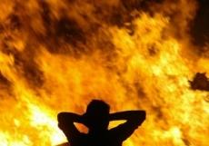Огонь унес жизнь 60-летней жительницы Медведевского района