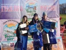 Елена Марсова —  абсолютная победительница Гран-при России по горному бегу